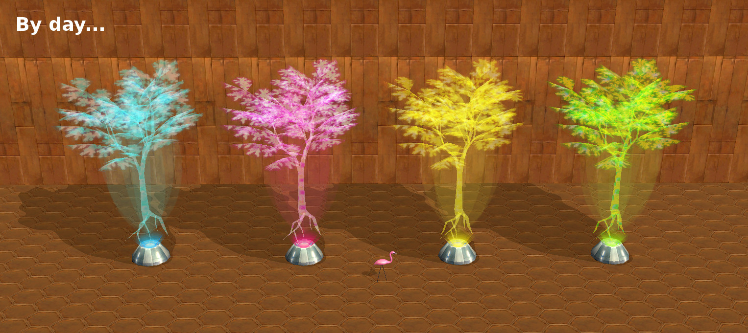 Holographic Trees