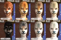 Werewolf Fur Colors