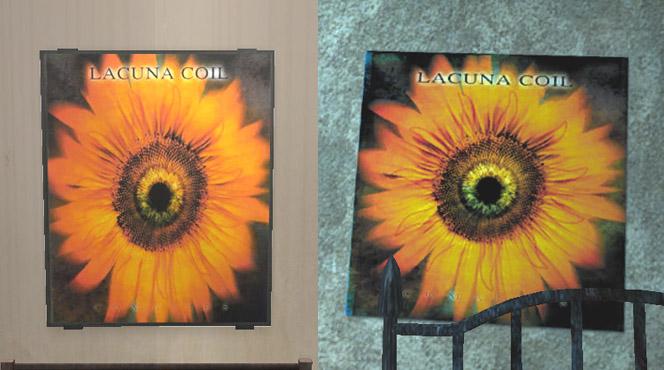 Lacuna Coil Poster